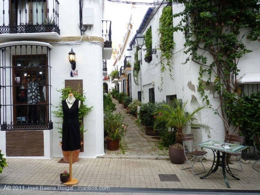 Marbella Portal tipico Malaga