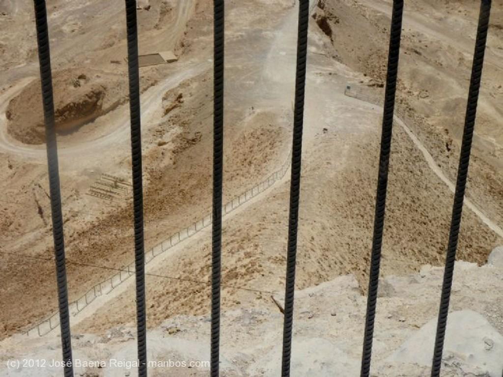 Masada Rampa en la Roca Blanca Distrito Meridional