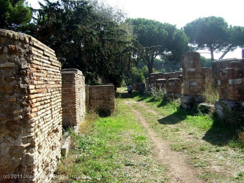 Ostia Antica Necropolis Roma