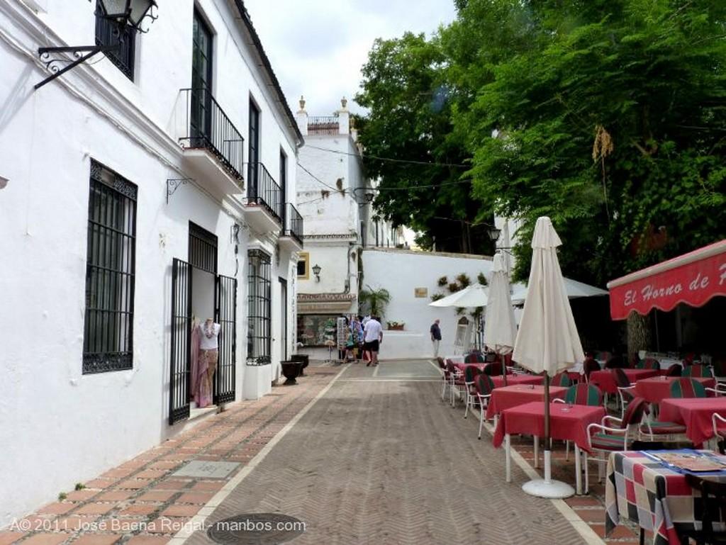Marbella Terraza sombreada  Malaga