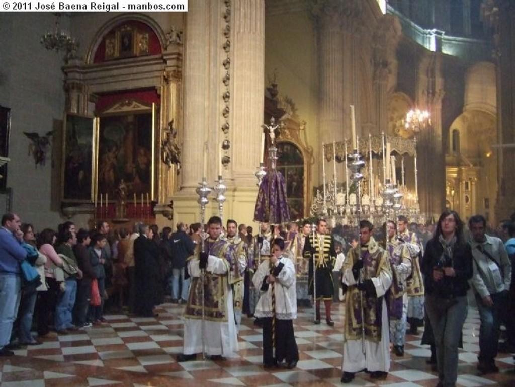 Malaga Trono de la Virgen de la Trinidad Malaga