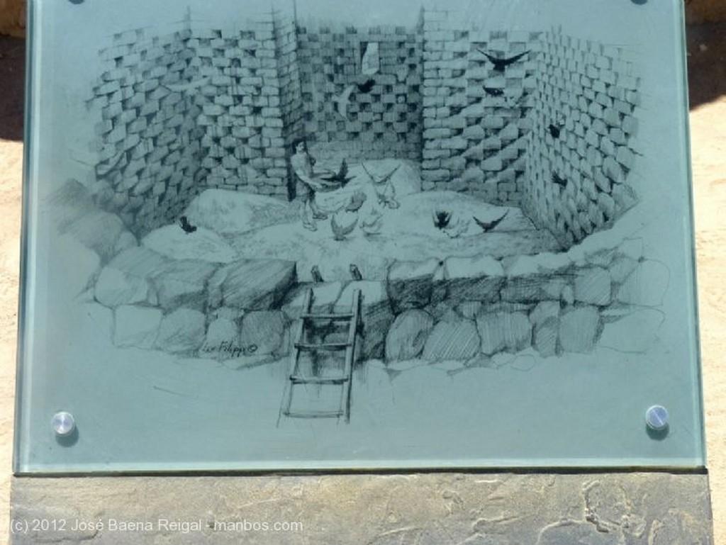 Masada Ruinas del columbario Distrito Meridional