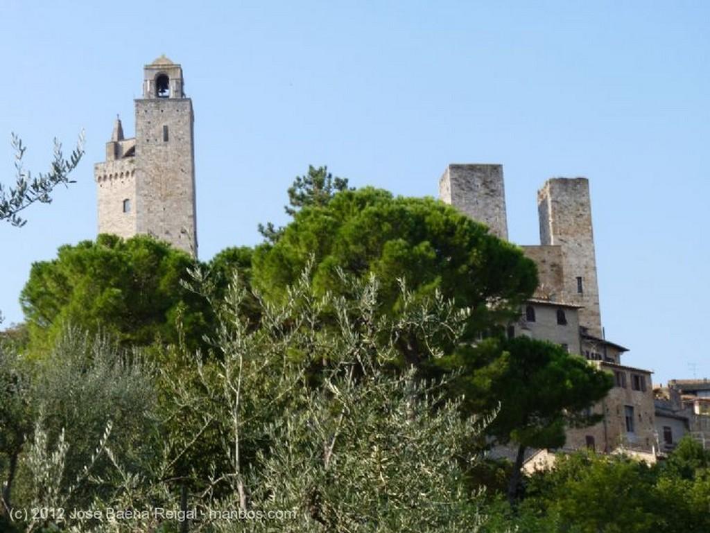San Gimignano Calles inolvidables Siena