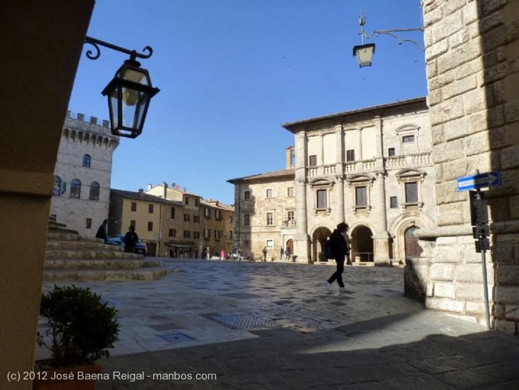 Montepulciano Cuesta con terraza Siena