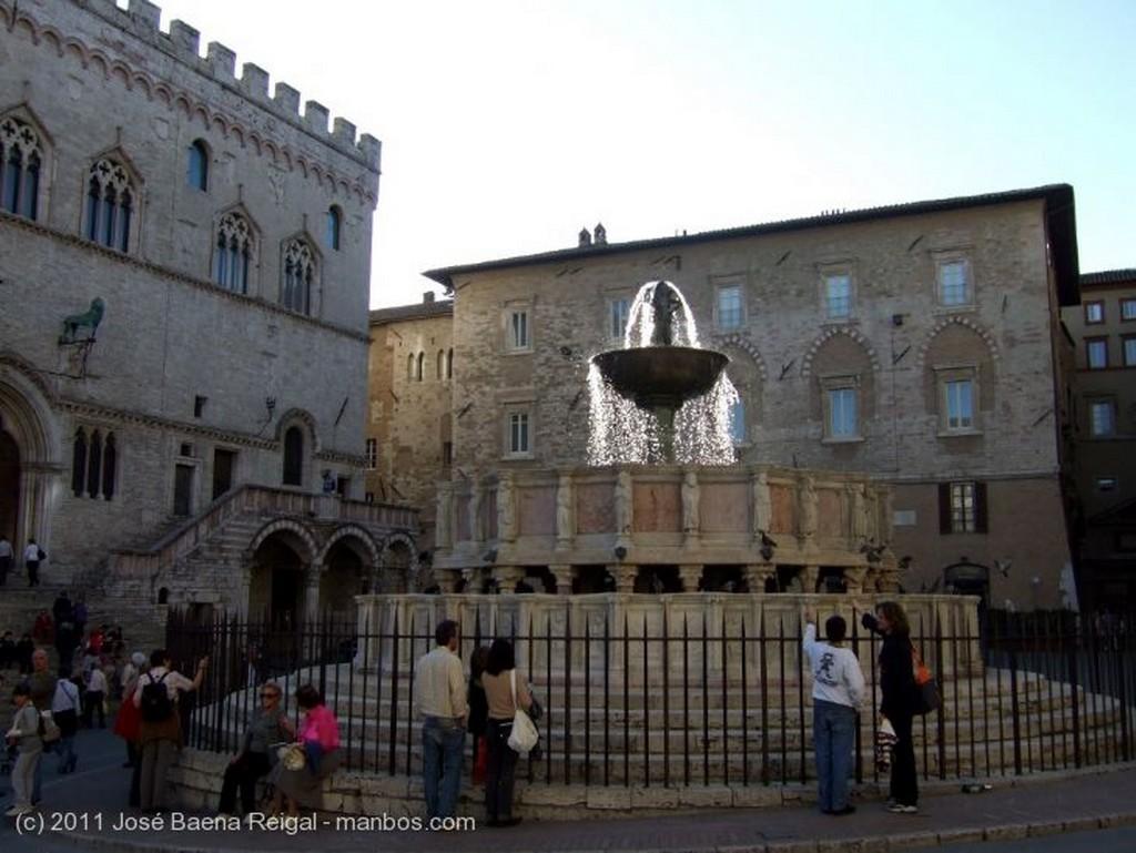 Perugia Anocheder de octubre Umbria