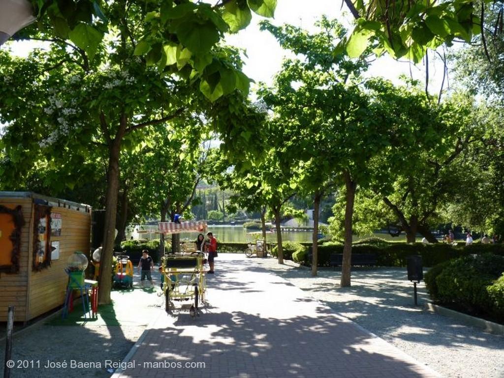 Benalmadena La entrada al parque Malaga