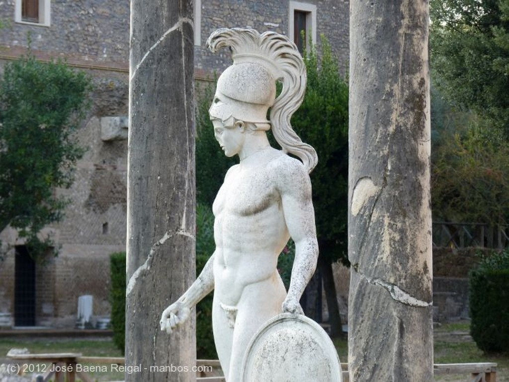 Villa Adriana Ares y Artemisa Roma