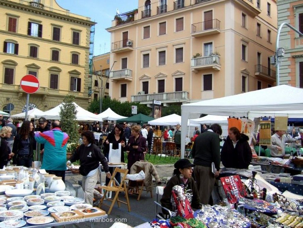 Frascati Mercadillo de los domingos  Lazio