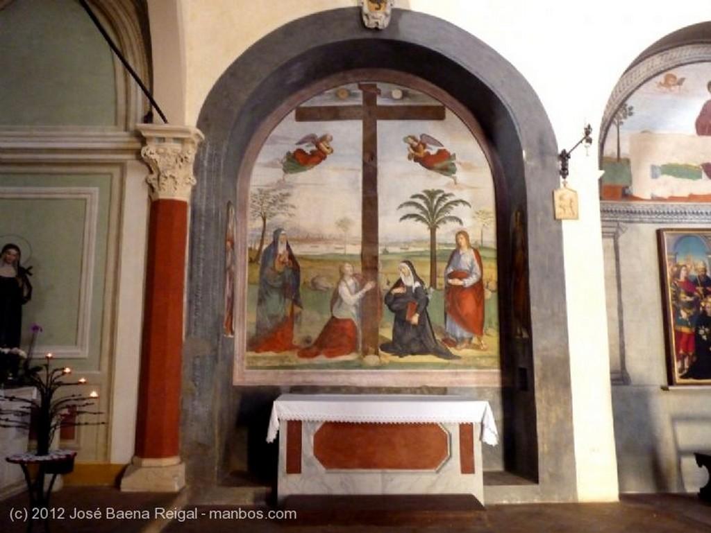 San Gimignano Altar Mayor Siena