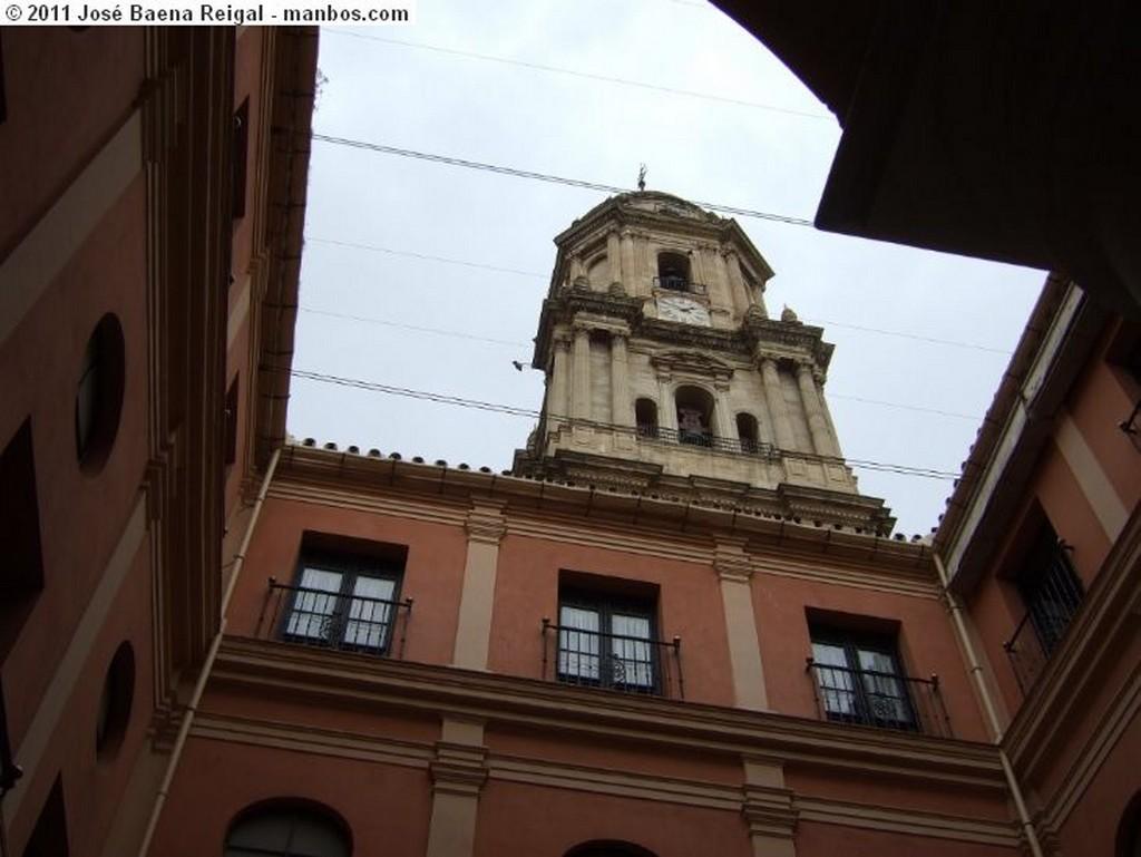Malaga Jardines de la Catedral Malaga