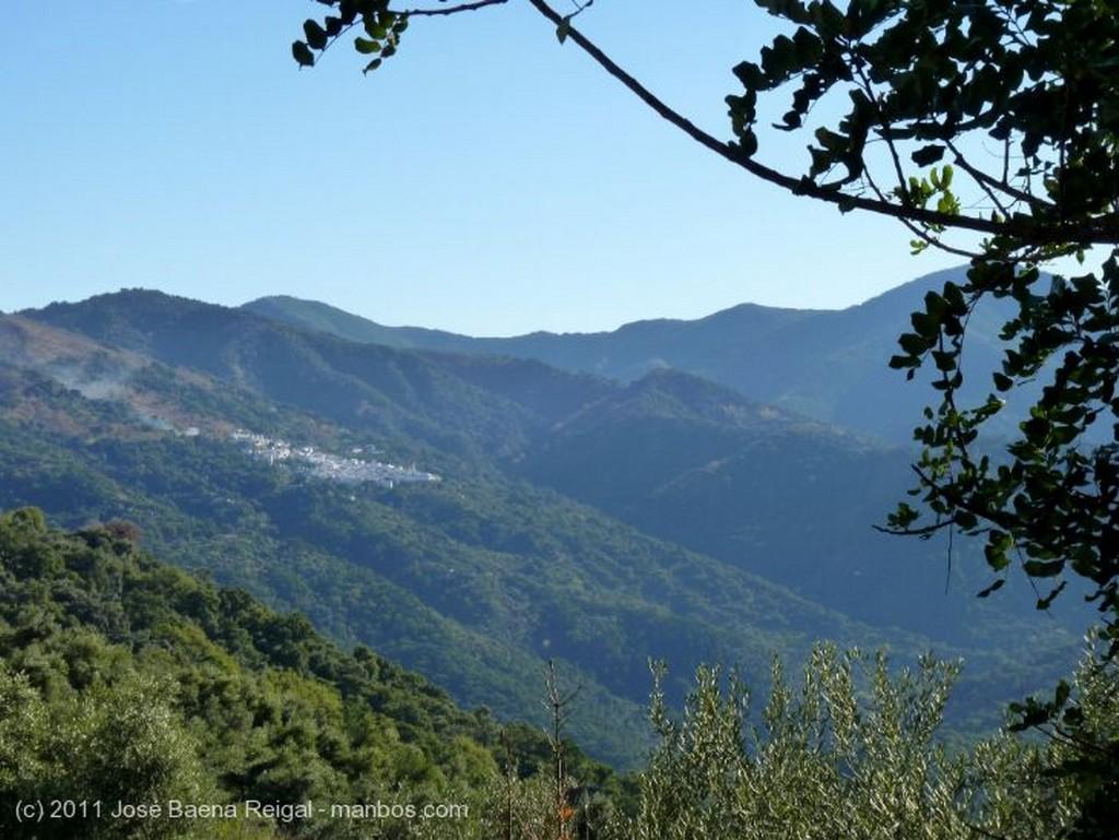 Valle del Genal Horizonte serrano Malaga