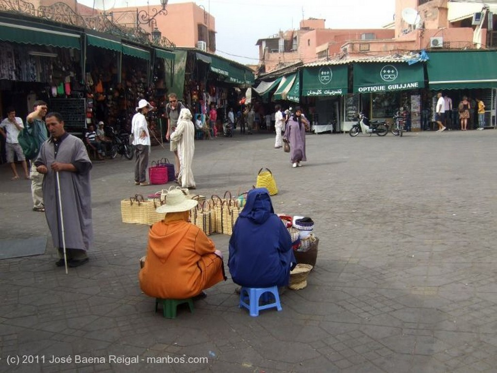 Marrakech Dibujo con henna Marrakech