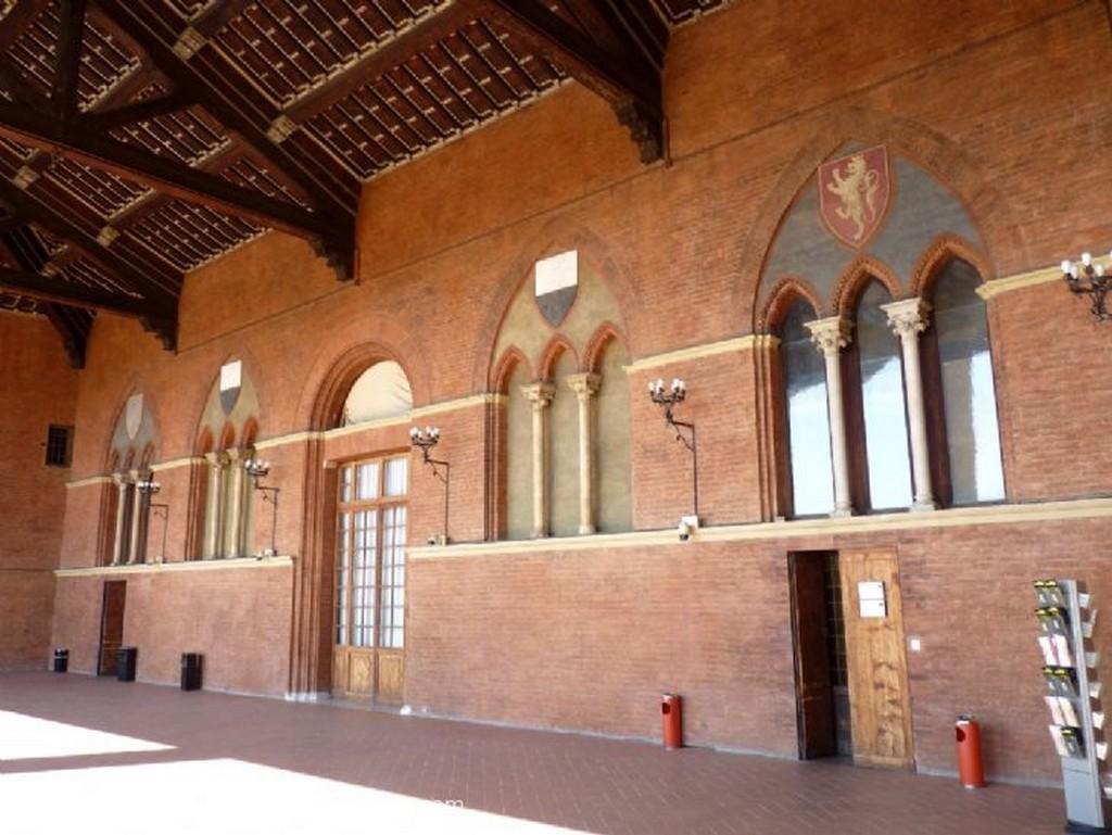 Siena Adan y Eva, de Iacoppo della Quercia Toscana