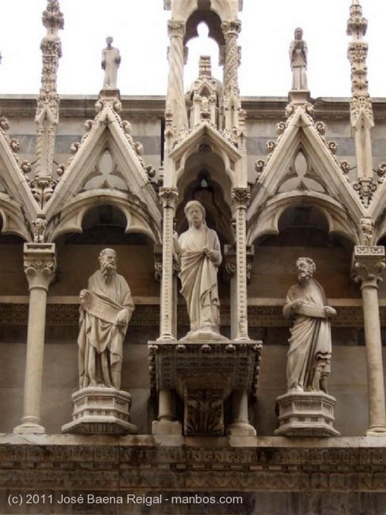 Pisa Capilla de la portada Toscana