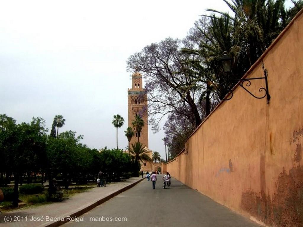 Marrakech Terraza abalaustrada Marrakech