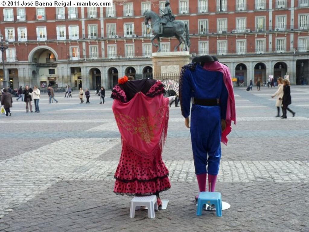 Madrid Monumento a Felipe III Madrid
