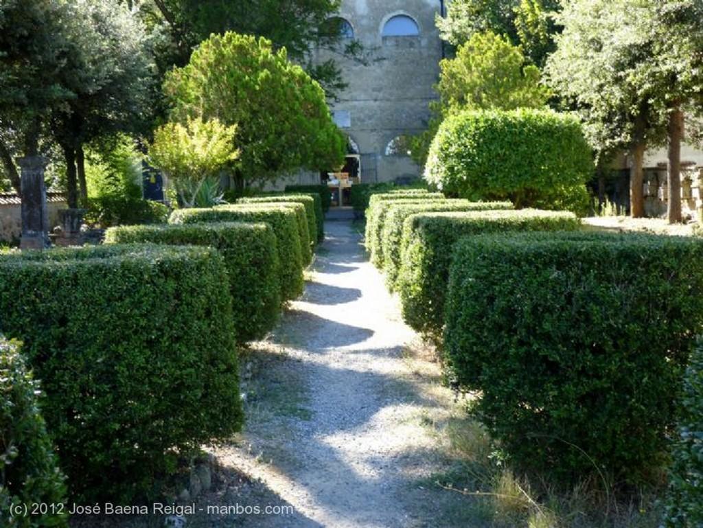 Volterra Vista desde el jardin Pisa