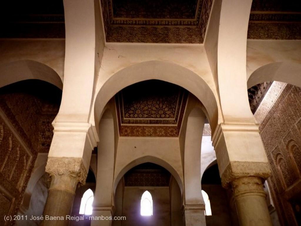 Marrakech Enterramientos Dinastia Saadi Marrakech
