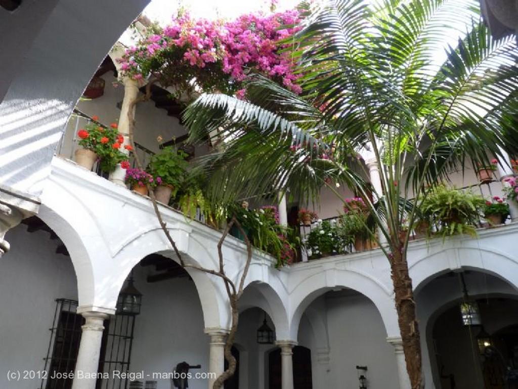 Malaga Acceso al patio Malaga