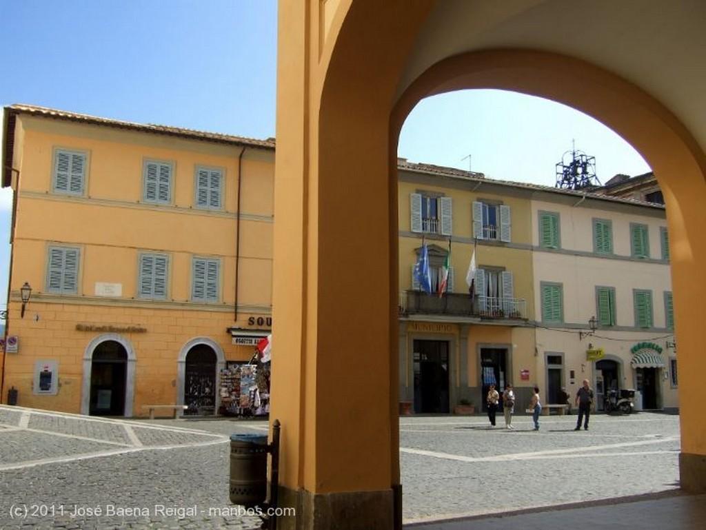 Castel Gandolfo Fachada principal Lazio