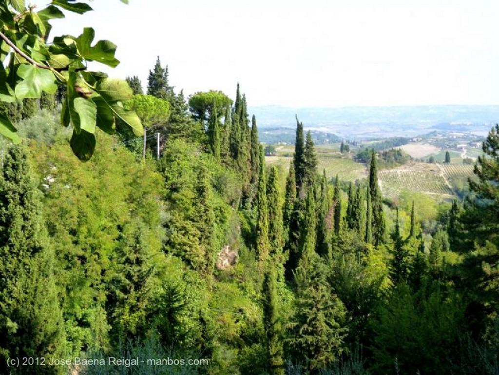 San Gimignano Entramado medieval Siena
