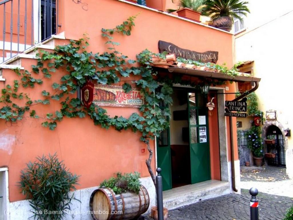 Frascati Escalera exterior Lazio