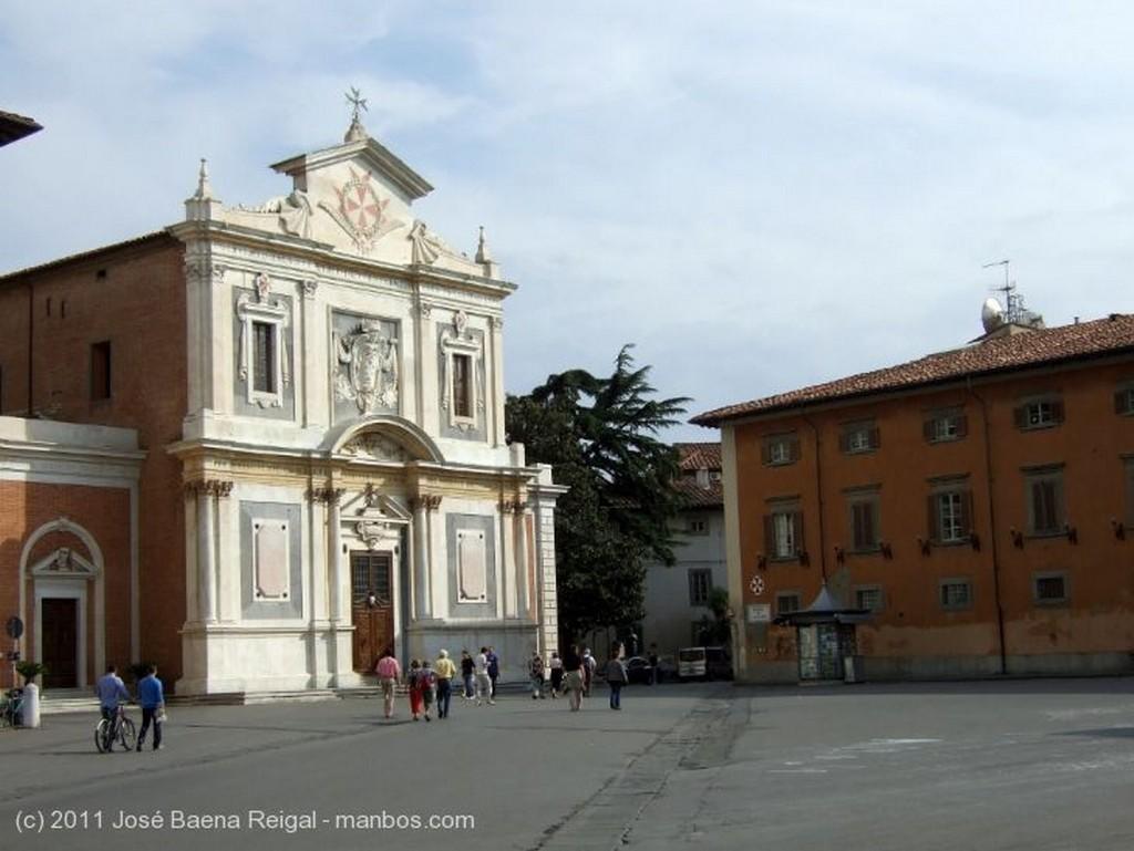 Pisa Iglesia de Santo Stefano dei Cavalieri Toscana
