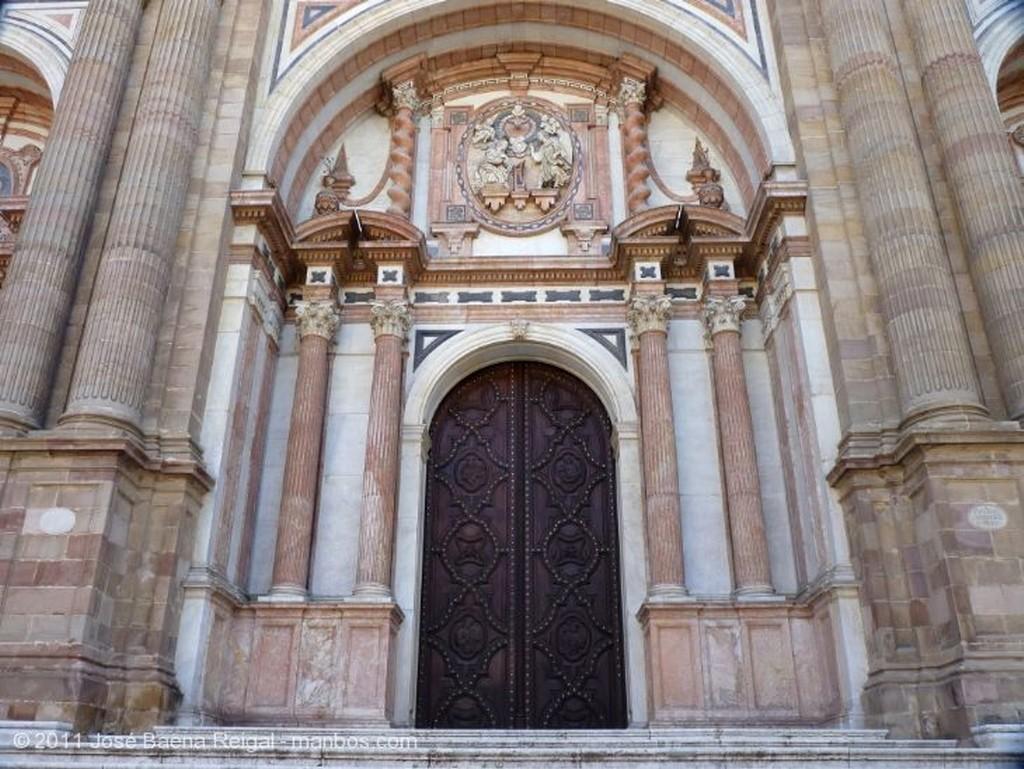 Malaga Reja de la fachada principal  Malaga