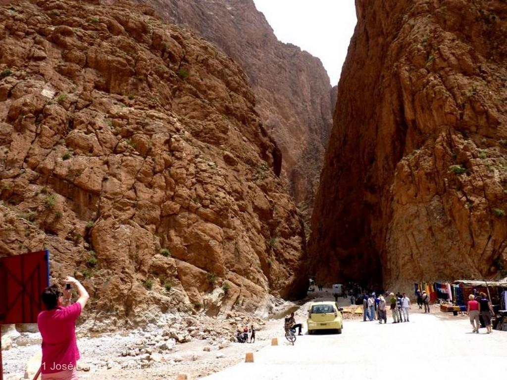 Gargantas del Todra Demasiados vehiculos Ouarzazate
