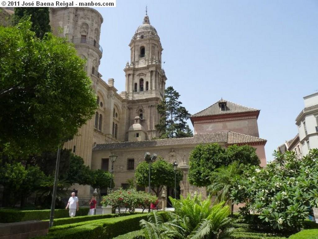 Malaga Torre de la Catedral  Malaga