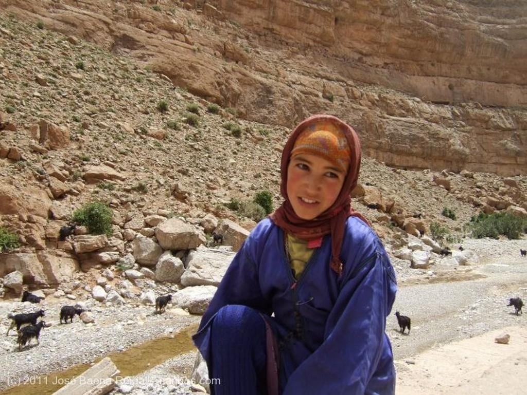 Gargantas del Todra En el Alto Todra Ouarzazate