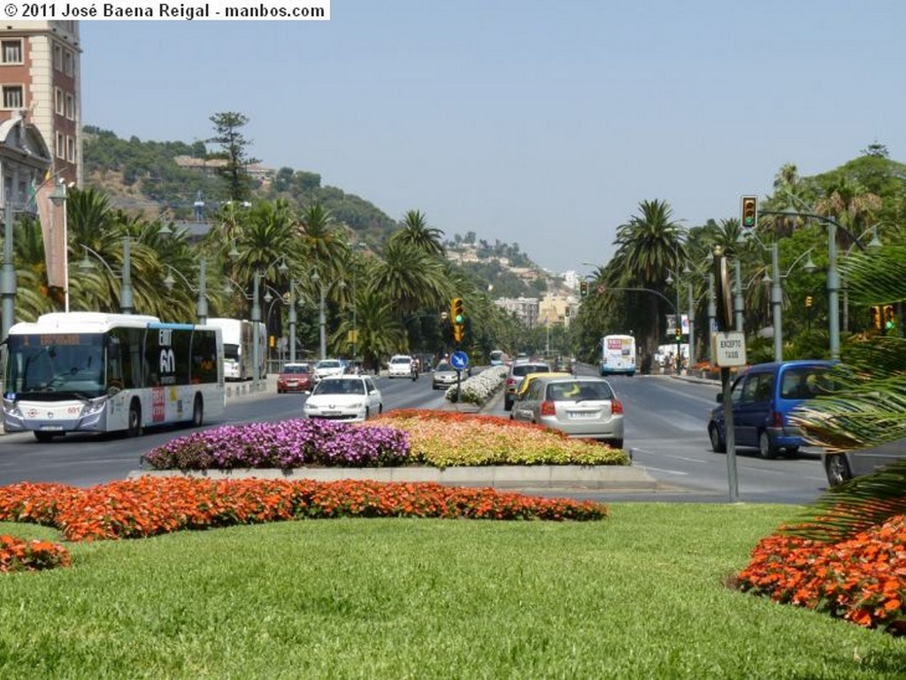 Malaga De proa a la ciudad Malaga