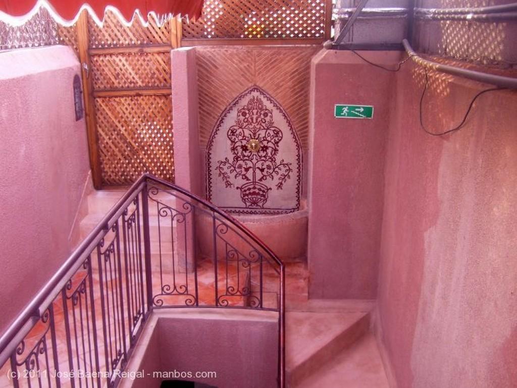 Marrakech Patio del Riad Amira Victoria Marrakech