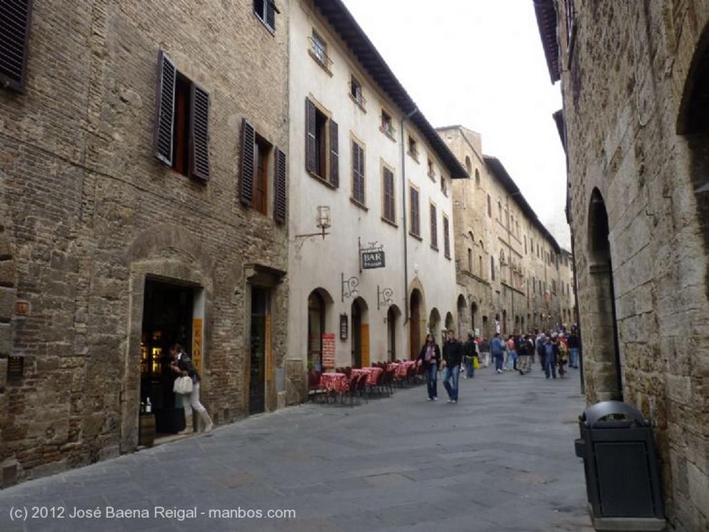 San Gimignano Desde mi ventana Siena