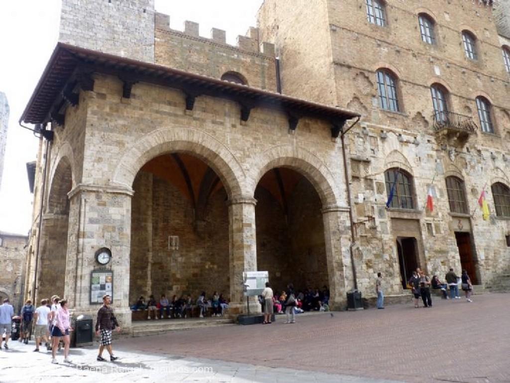 San Gimignano Terraza Siena