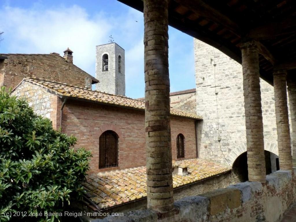 San Gimignano La Torre Grossa Siena