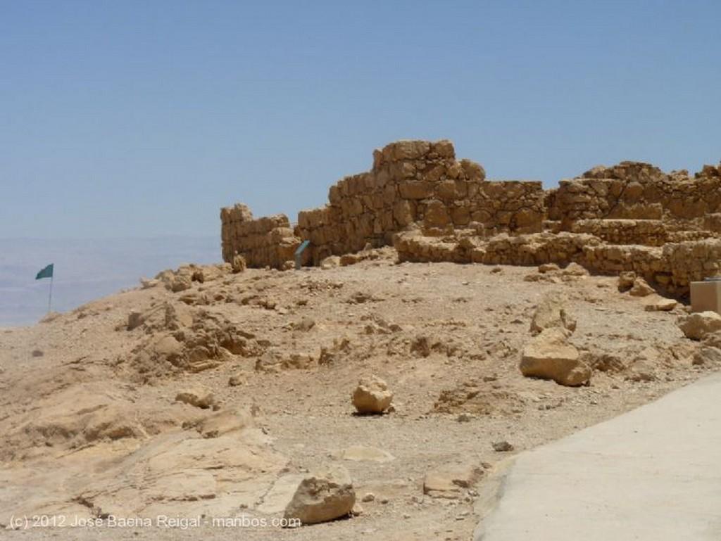 Masada Vista del Mar Muerto Distrito Meridional