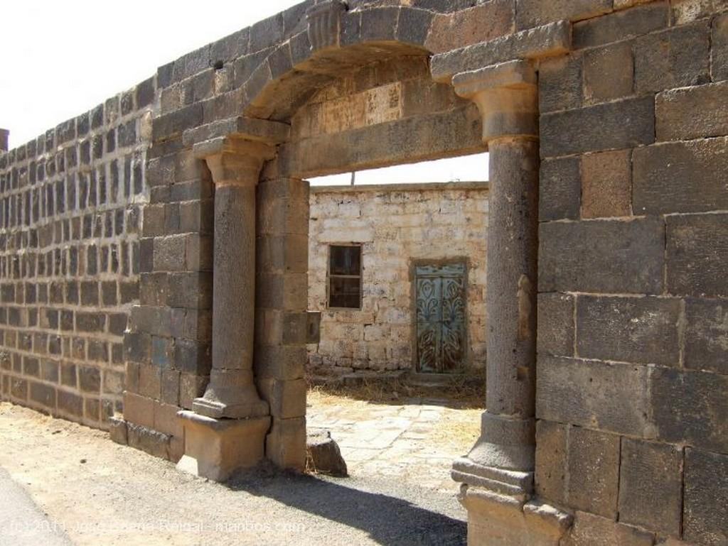 Bosra Catedral de los santos Sergio, Baco y Leoncio Dera