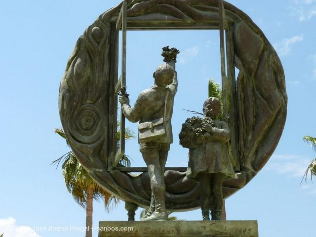 Marbella Monumento a la Constitucion Malaga