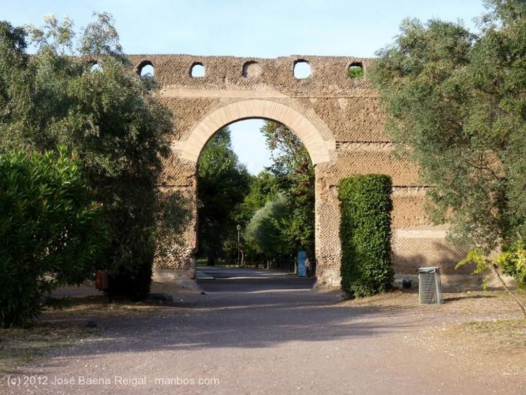 Villa Adriana Paraje protegido  Roma