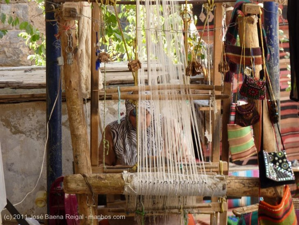 Bosra Telar tradicional Dera