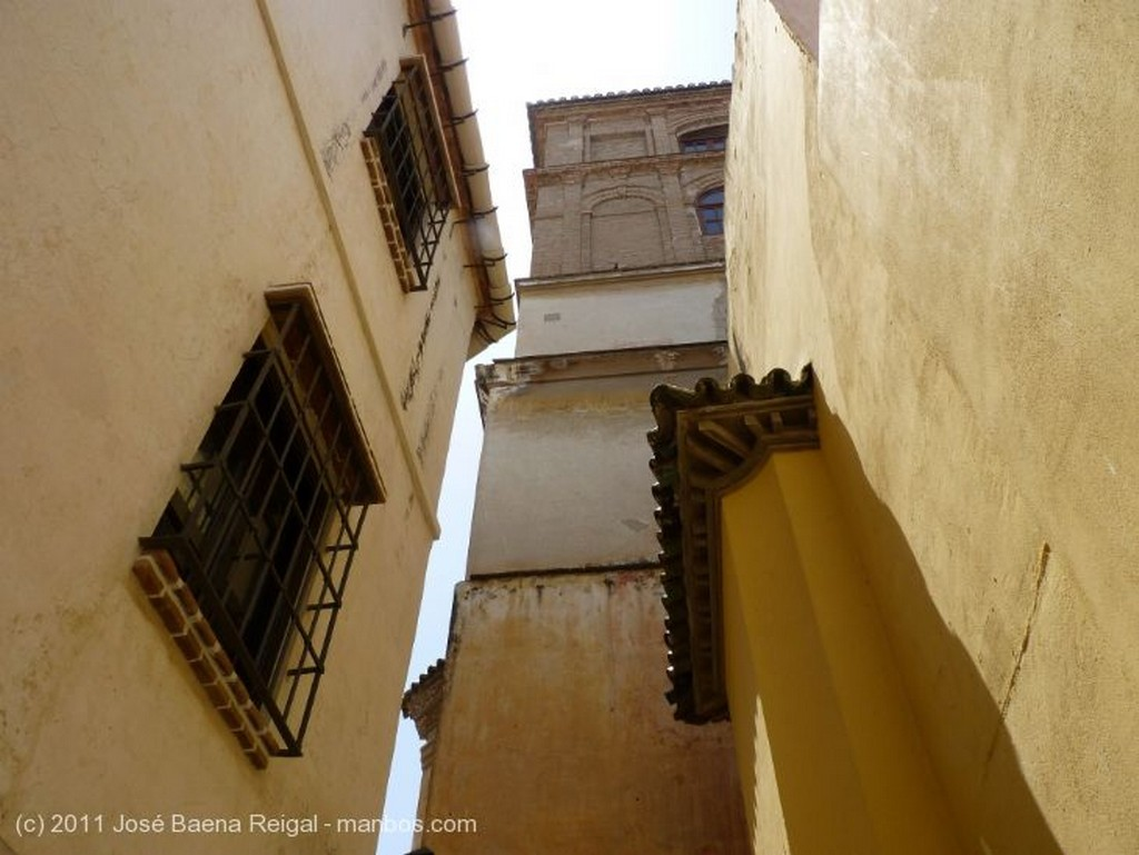 Malaga Esquinas en la juderia Malaga