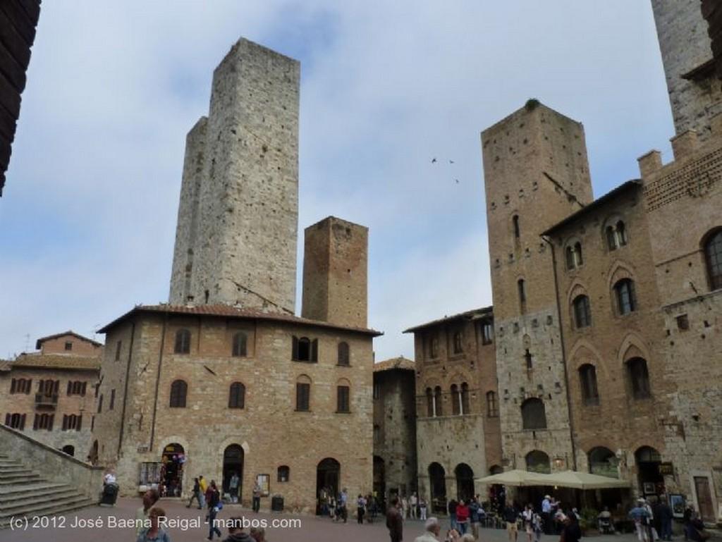 San Gimignano Palazzo del Comune y Colegiata Siena
