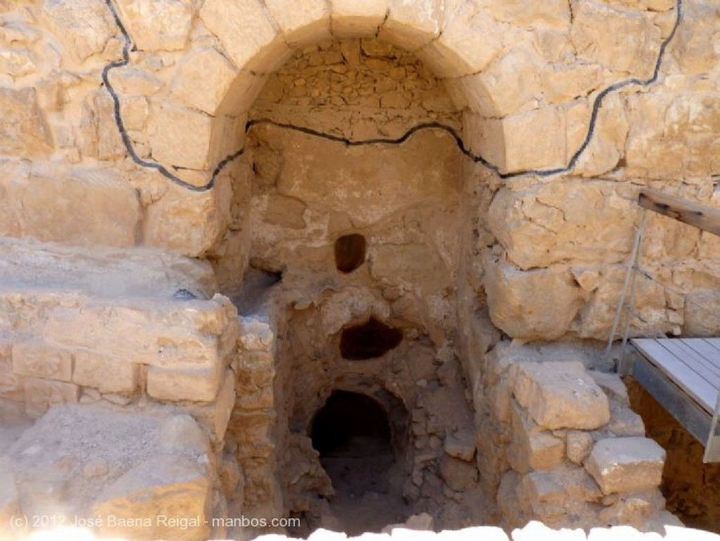 Masada Maqueta del Palacio de Herodes Distrito Meridional
