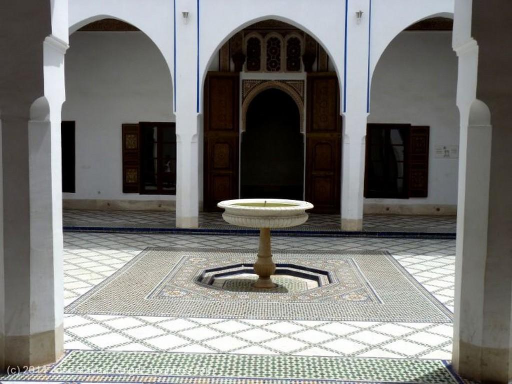 Marrakech Patio ajardinado Marrakech