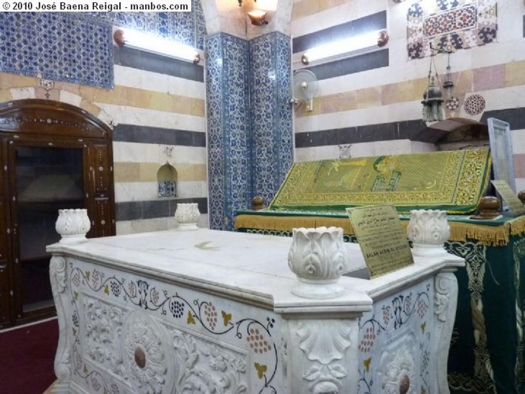 Damasco Tumba de Saladino Damasco