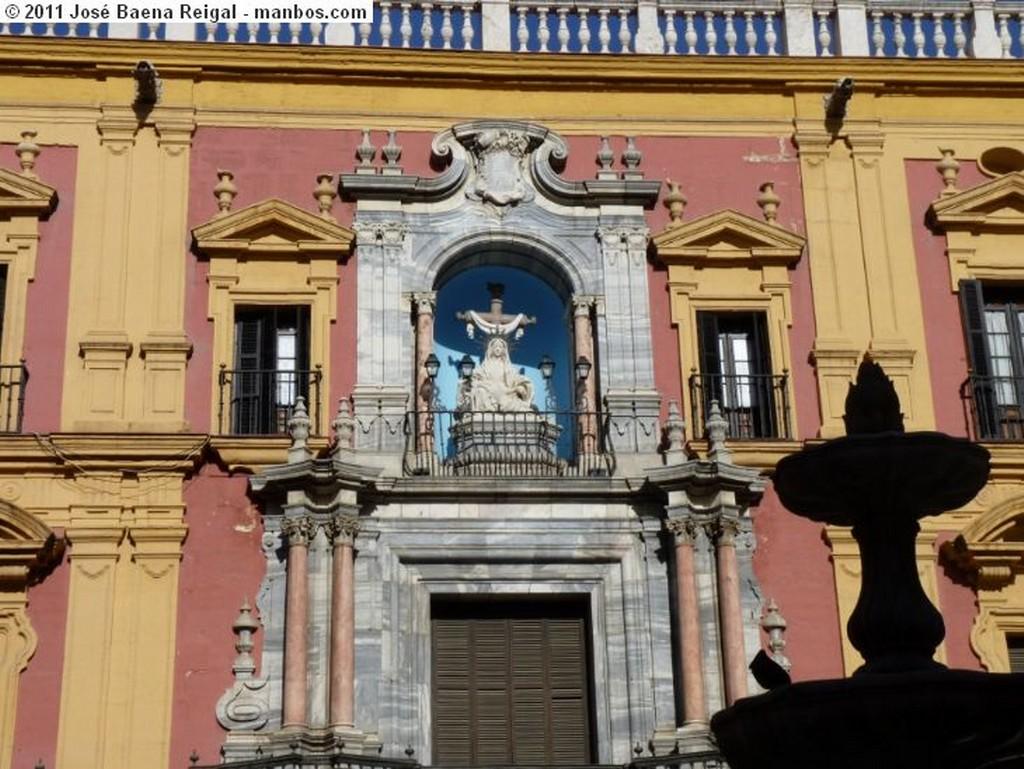 Malaga Hornacina de la Virgen  Malaga