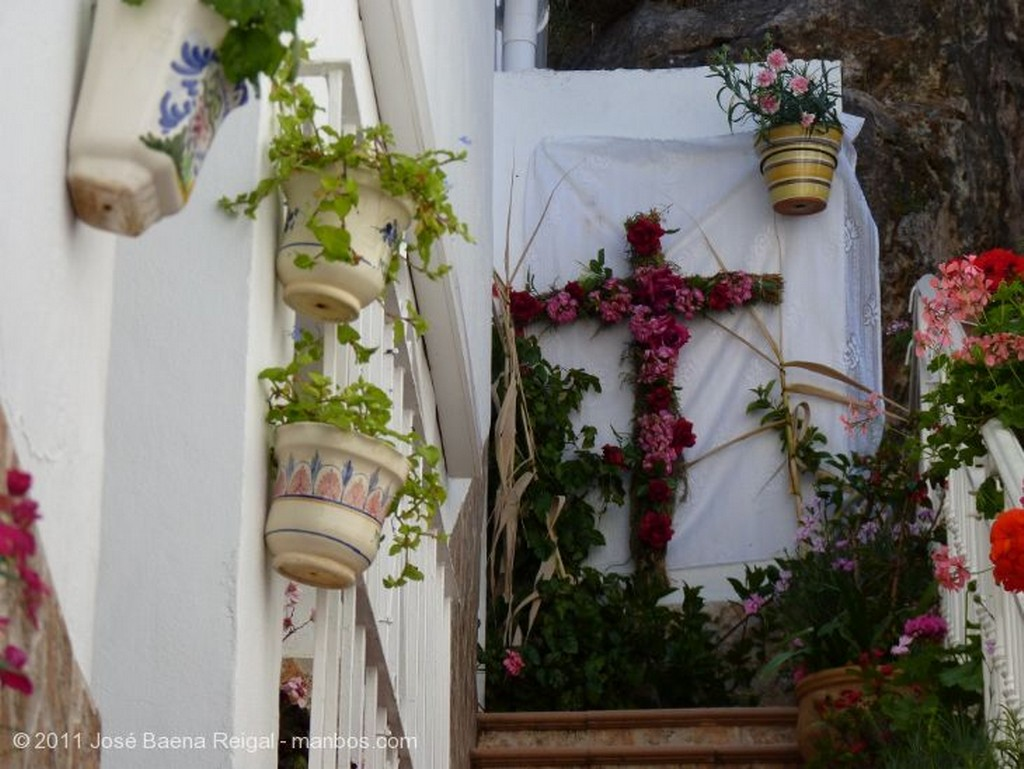Mijas Escalera florida Malaga