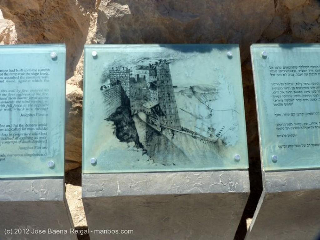Masada Rampa del asedio Distrito Meridional