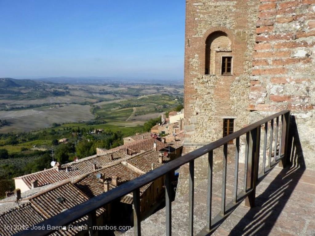 Montepulciano Pozo y olivo Siena